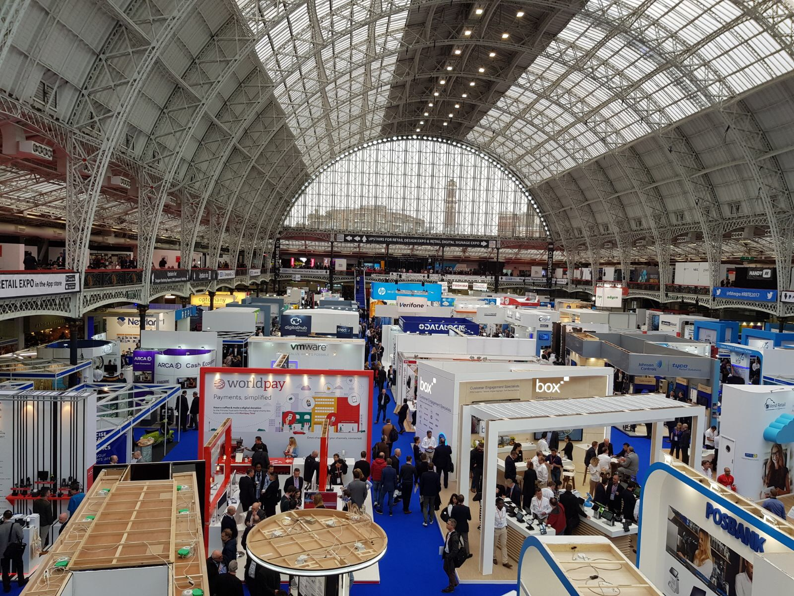 Synel Uk Participating At The Retail Exhibition